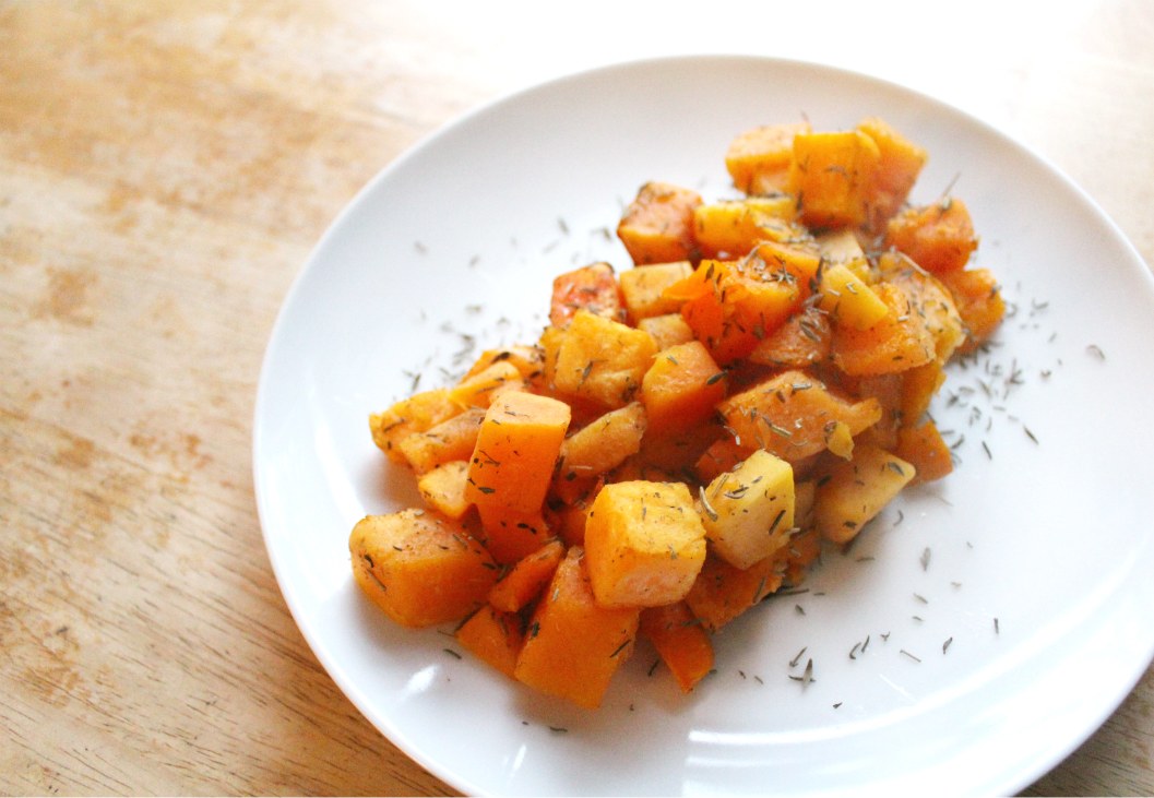 """Thanksgiving"" Roasted Butternut Squash 