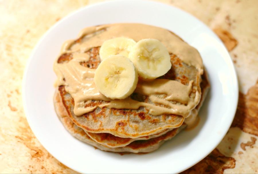 The Ultimate Banana Pancakes | Strength and Sunshine @RebeccaGF666 Not your typical banana pancake recipe for breakfast here! These are the ultimate banana pancakes thanks to banana flour, making them gluten-free, vegan, grain-free, and nut-free! Your Sunday mornings just got a lot more delicious!