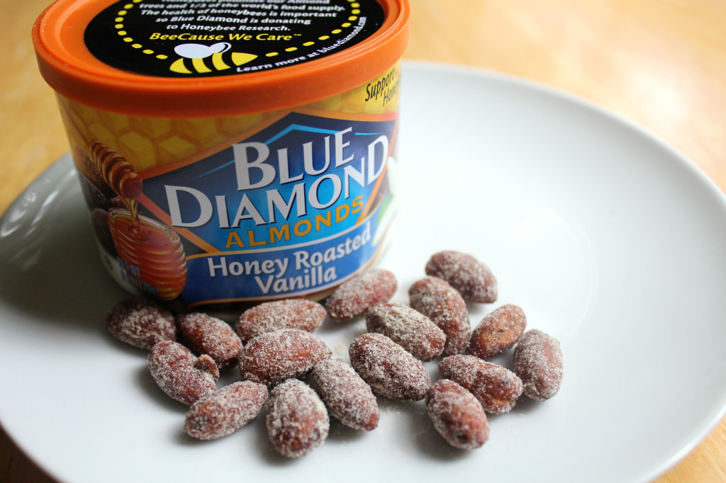 Blue Diamond Honey Roasted Vanilla Almonds | Strength and Sunshine