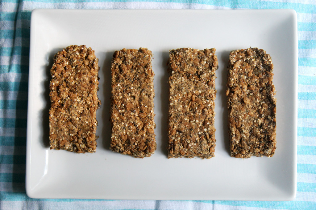 Raw Coffee Quinoa Protein Bars | Strength and Sunshine