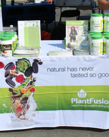 Plant Fusion Table | Strength and Sunshine #DCVegFest14