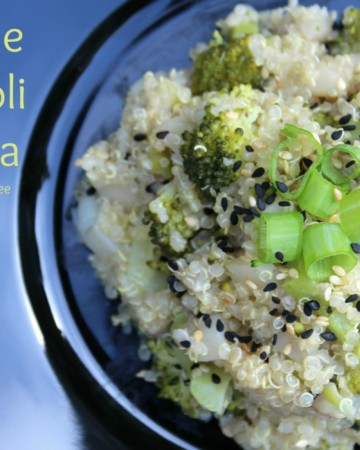 Sesame Broccoli Quinoa | Strength and Sunshine #glutenfree #vegan #soyfree