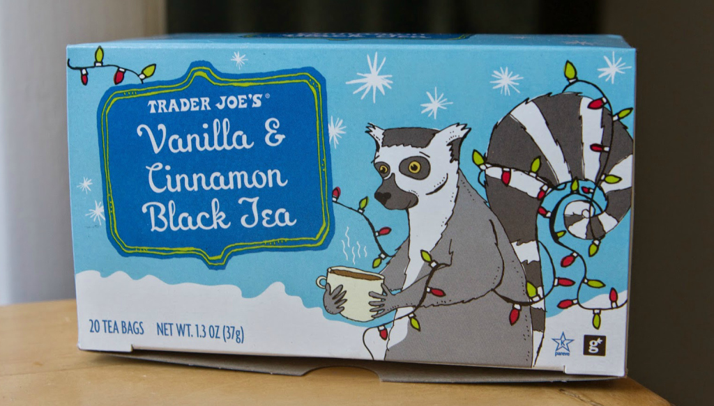 Trader Joes Vanilla and Cinnamon Black Tea | Strength and Sunshine