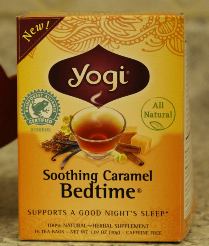 Yogi Soothing Caramel Bedtime Tea | Strength and Sunshine