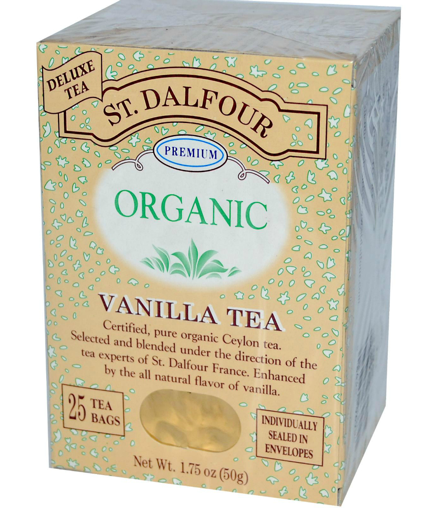 St. Dalfour Vanilla Ceylon Tea | Strength and Sunshine