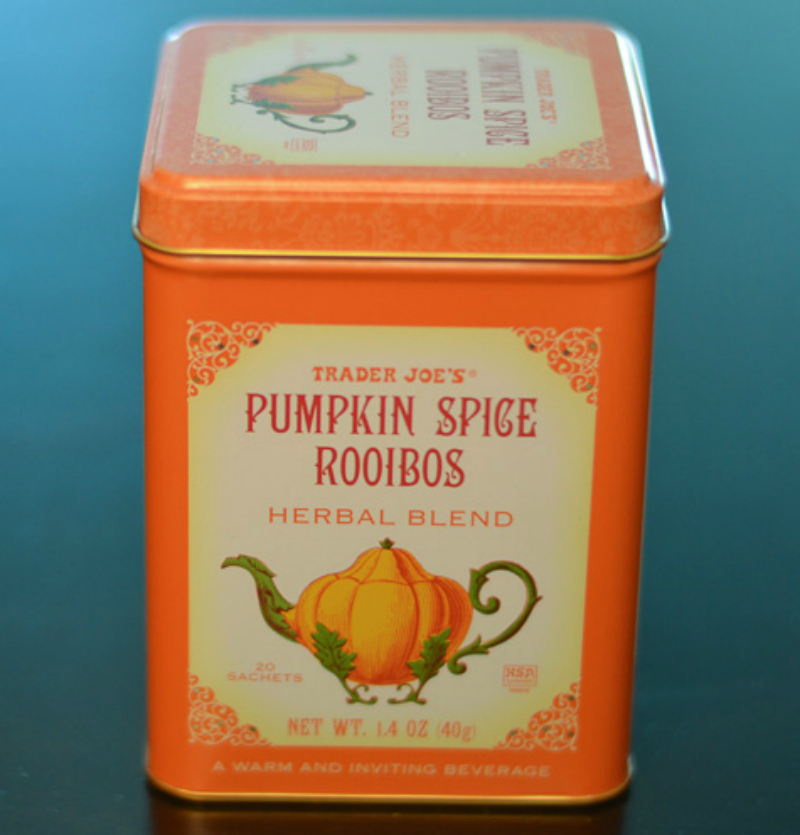 Trader Joe's Pumpkin Spice Roobios Tea | Strength and Sunshine
