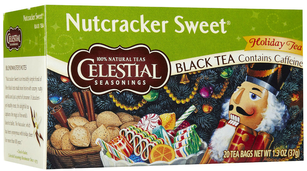 Celestial Seasonings Nutcracker Sweet Tea| Strength and Sunshine