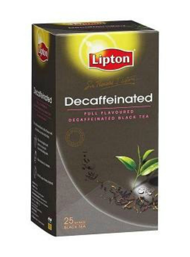 Lipton Decaffeinated Black Tea | Strength and Sunshine
