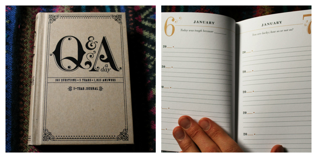 Q&A a Day 5 Year Journal | Strength and Sunshine @RebeccaGF666