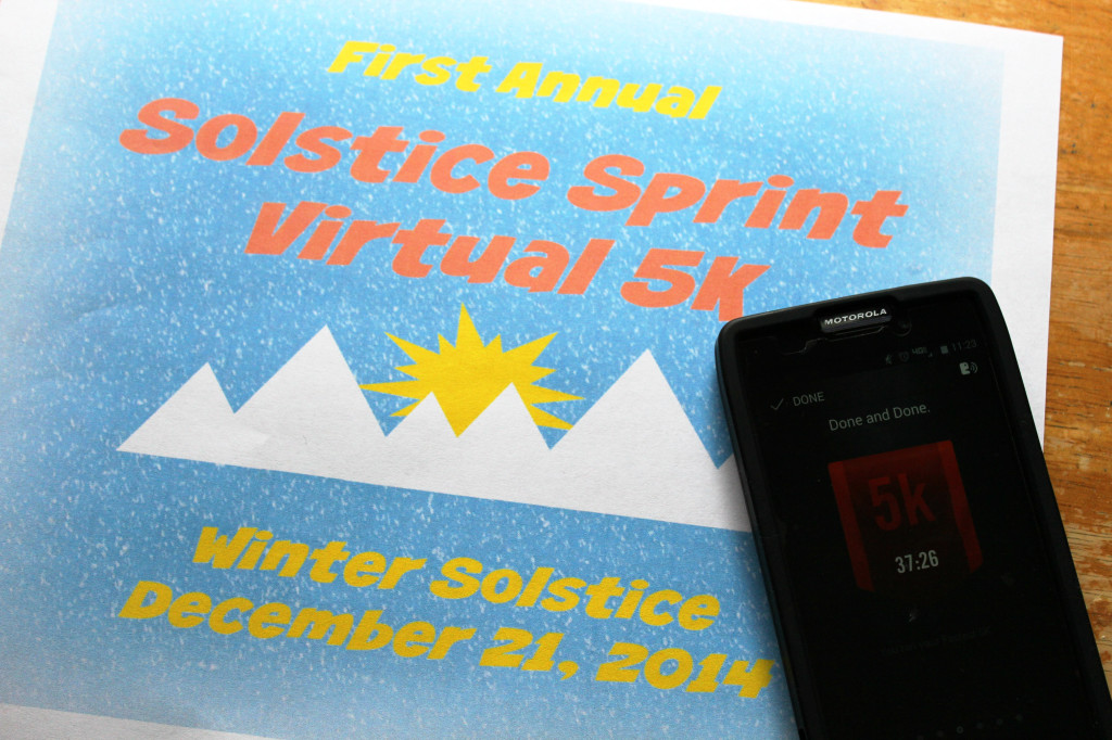 Solstice Sprint Virtual 5K | Strength and Sunshine @RebeccaGF666 #running #5K