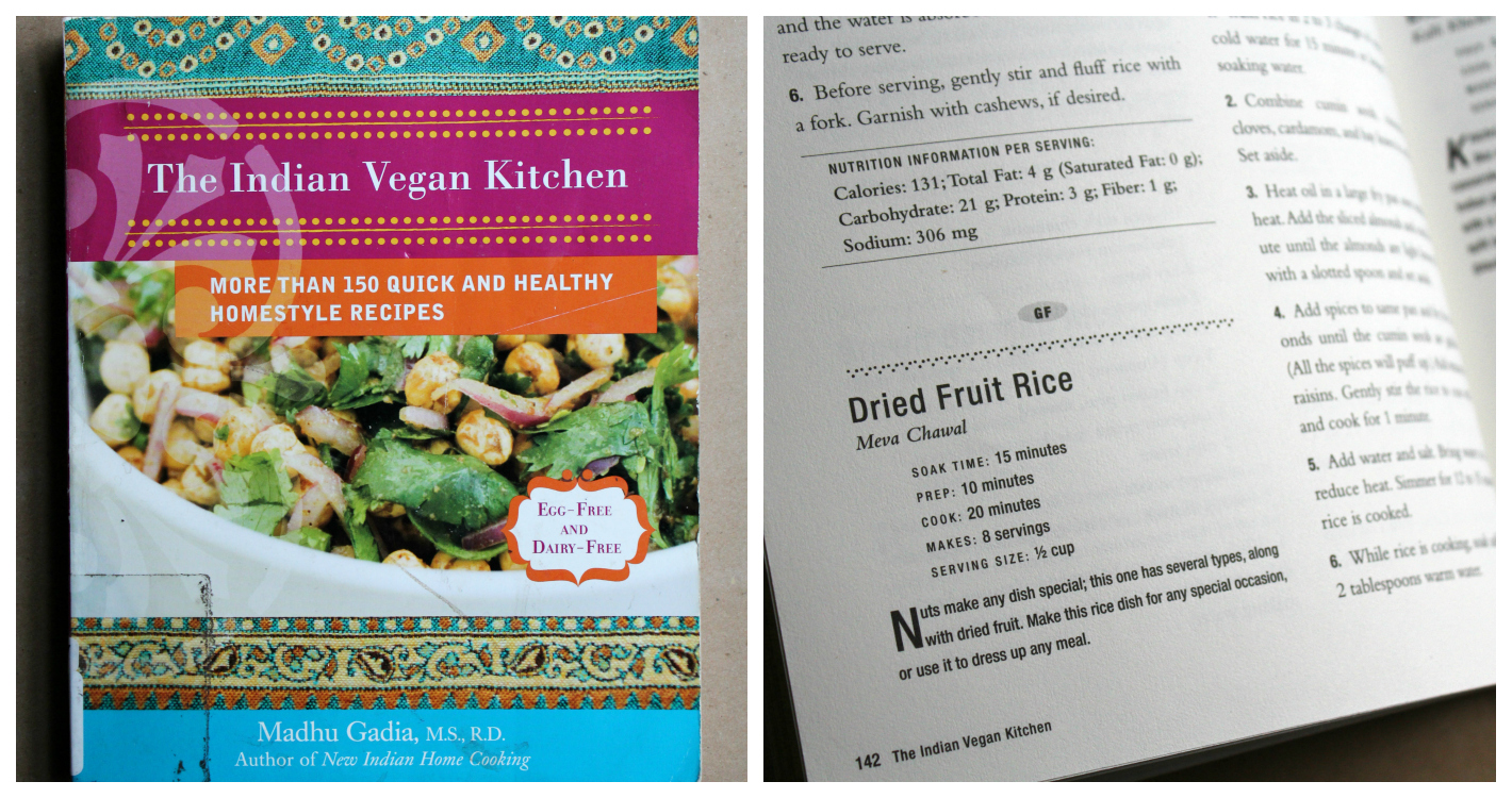 The Indian Vegan Kitchen Cookbook | Strength and Sunshine @RebeccaGF666 #cookbook