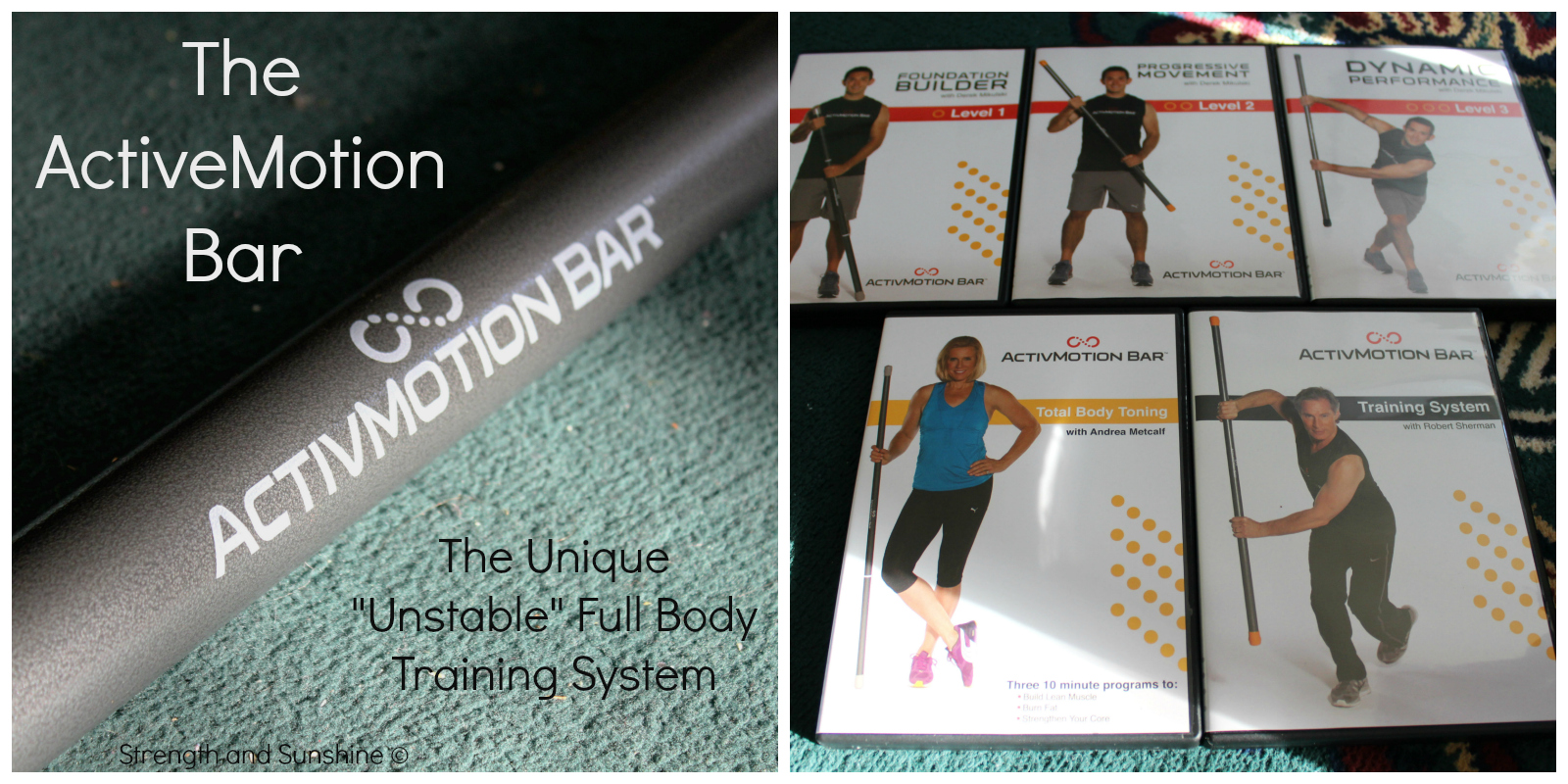 The ActiveMotion Bar | Strength and Sunshine #fitness