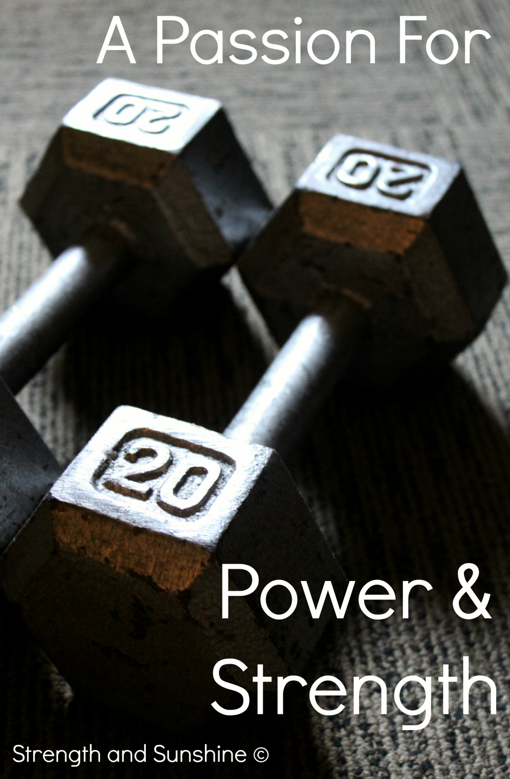 A Passion For Power And Strength | Strength and Sunshine @RebeccaGF666 #fitness #strengthtraining #weightlifting