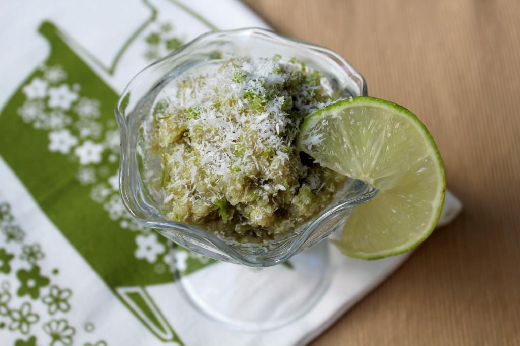 Key Lime Quinoa Flakes | Strength and Sunshine @RebeccaGF666 #breakfast #keylime #glutenfree #vegan #quinoa #quinoaflakes #soyfree