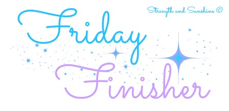Friday Finisher 9/15/17