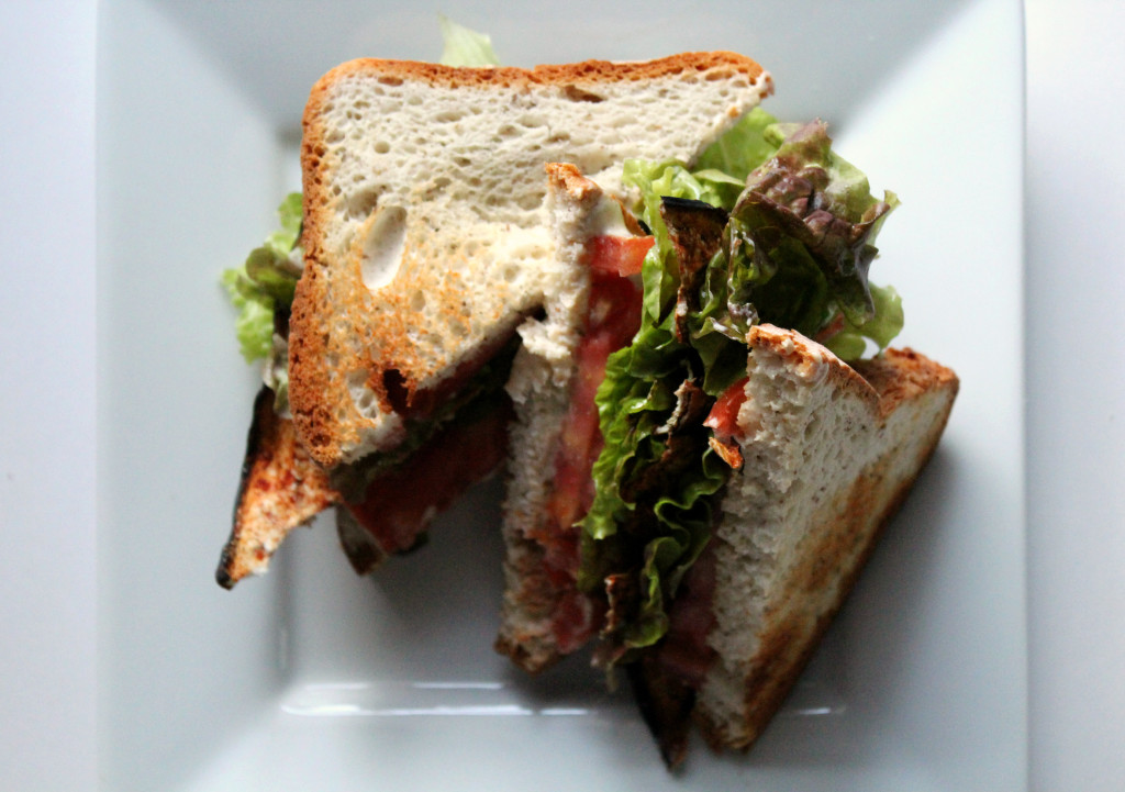 The Ultimate Vegan BLT | Strength and Sunshine @RebeccaGF666 #vegan #glutenfree #soyfree #lunch #sandwich #BLT