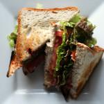 The Ultimate Vegan BLT | Strength and Sunshine @RebeccaGF666 #vegan #glutenfree #soyfree #lunch #sandwich #BLT