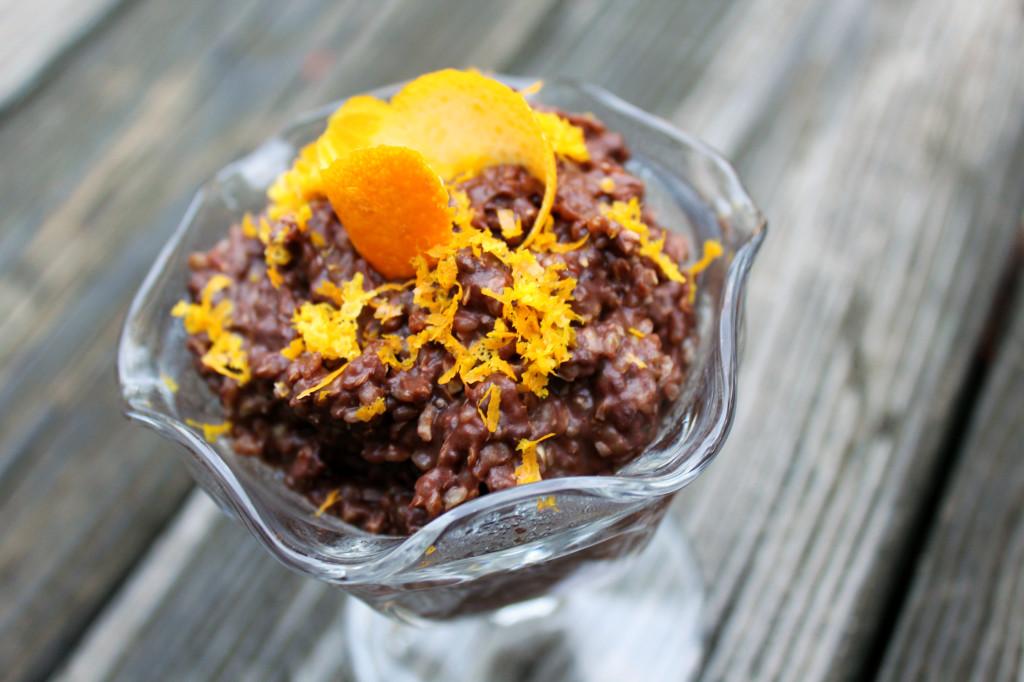 Orange Chocolate Chia Buckwheat Cereal   Strength and Sunshine @RebeccaGF666 #breakfast #buckwheat #chocolate #orange #glutenfree #vegan