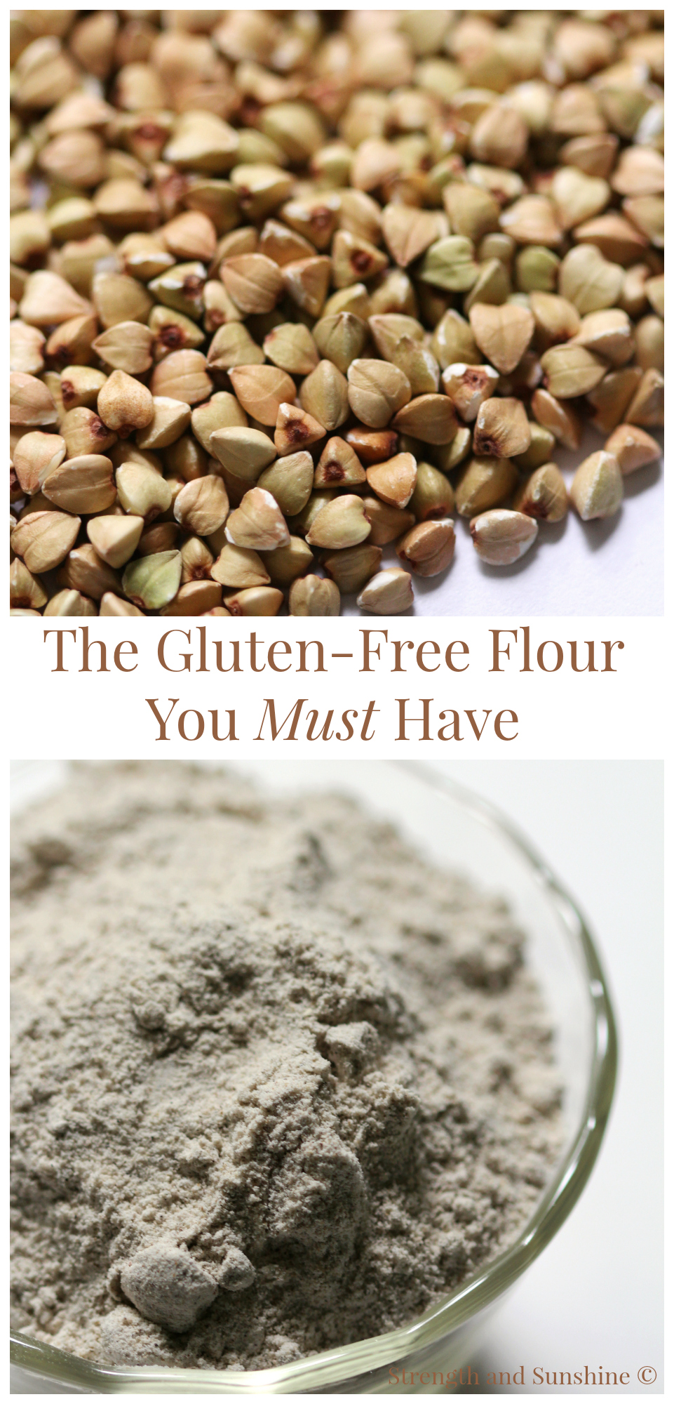 The Gluten-Free Flour You Must Have - Buckwheat | Strength and Sunshine @RebeccaGF666