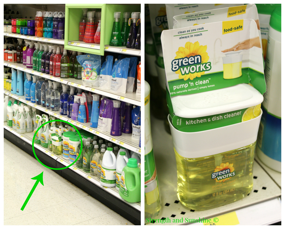 Green Works In Target | Strength and Sunshine @RebeccaGF666 #ad #NaturallyClean