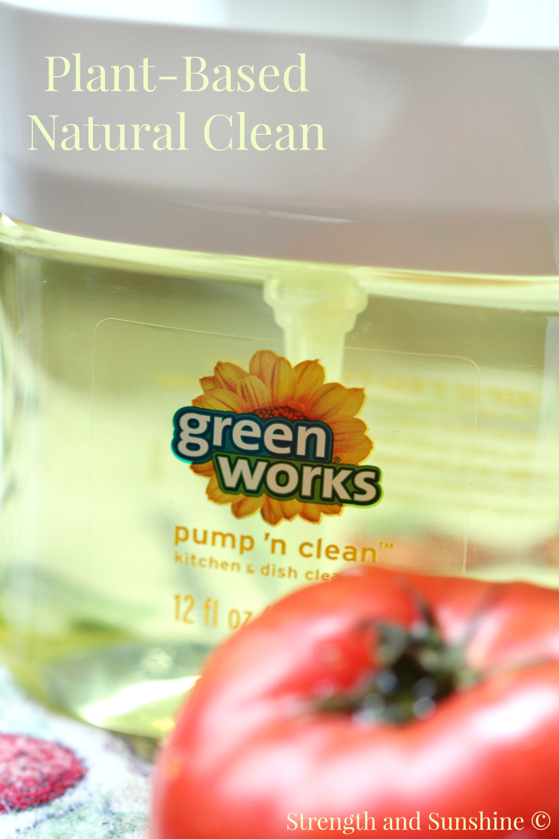 Green Works | Strength and Sunshine @RebeccaGF666 #NaturallyClean #ad