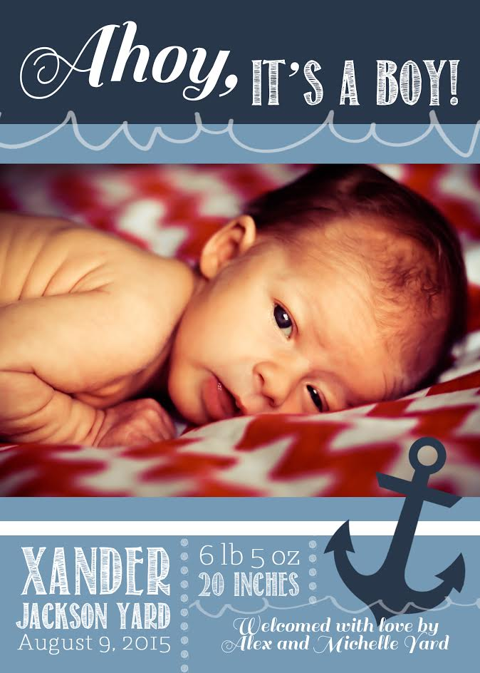"Virtual ""Under The Sea"" Baby Shower for Xander 