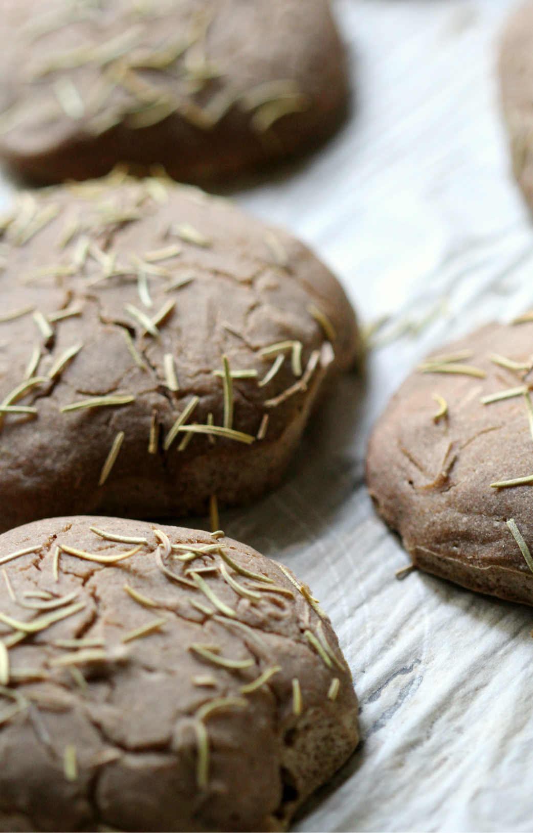 Fluffy Rosemary Yeast Buns | Strength and Sunshine @RebeccaGF666 Soft fluffy rosemary yeast buns that are gluten-free and vegan. The warm and comforting aromas of savory herbs with a special technique for soft and fluffy dinner buns will have you reaching for the bread basket.