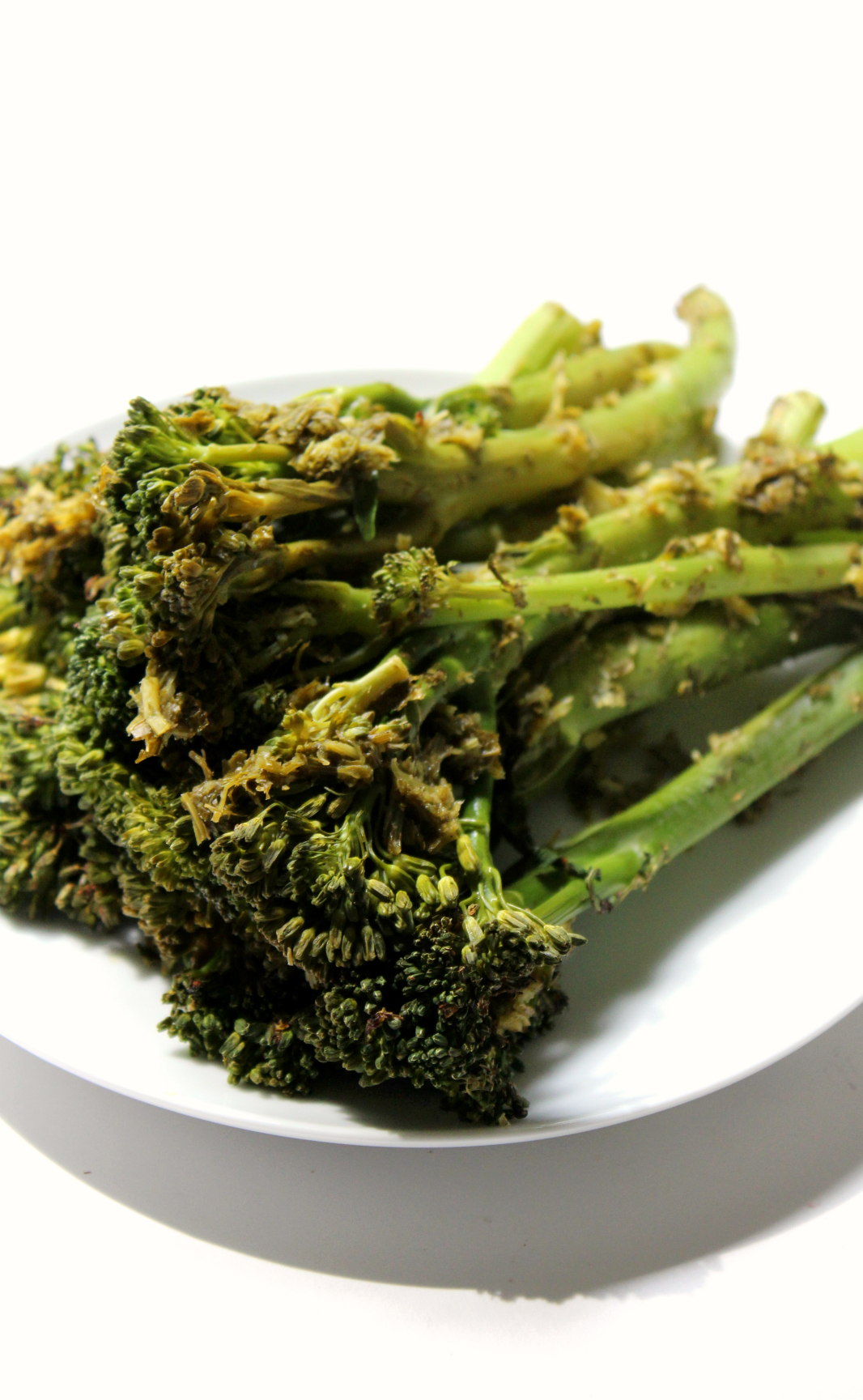 Roasted Broccolini With Lemon Garlic Herb Sauce
