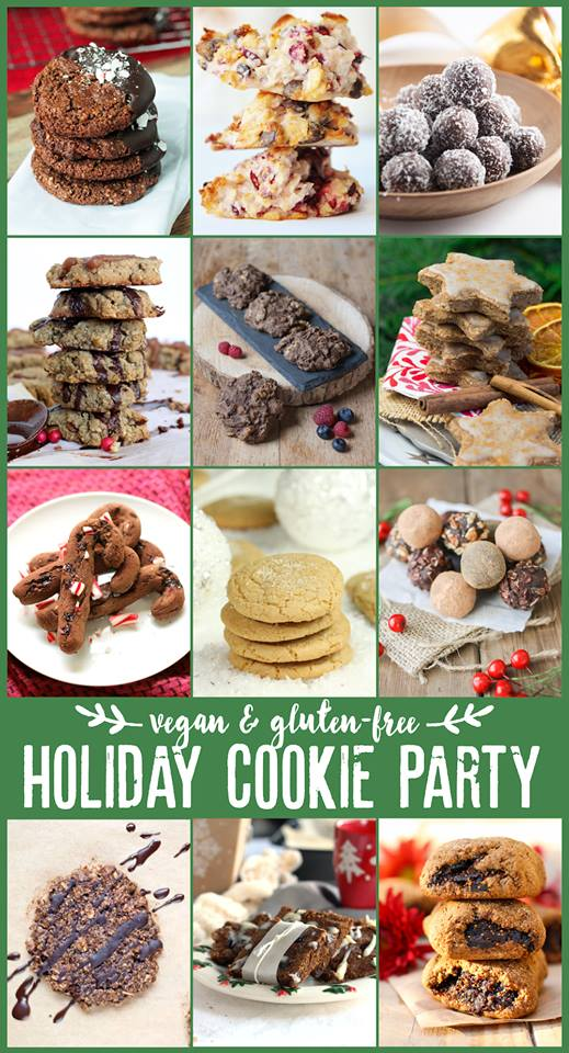 Vegan & Gluten-Free Holiday Cookie Party | Strength and Sunshine @RebeccaGF666 12 fantastic holiday cookies, all vegan and gluten-free to celebrate the season!