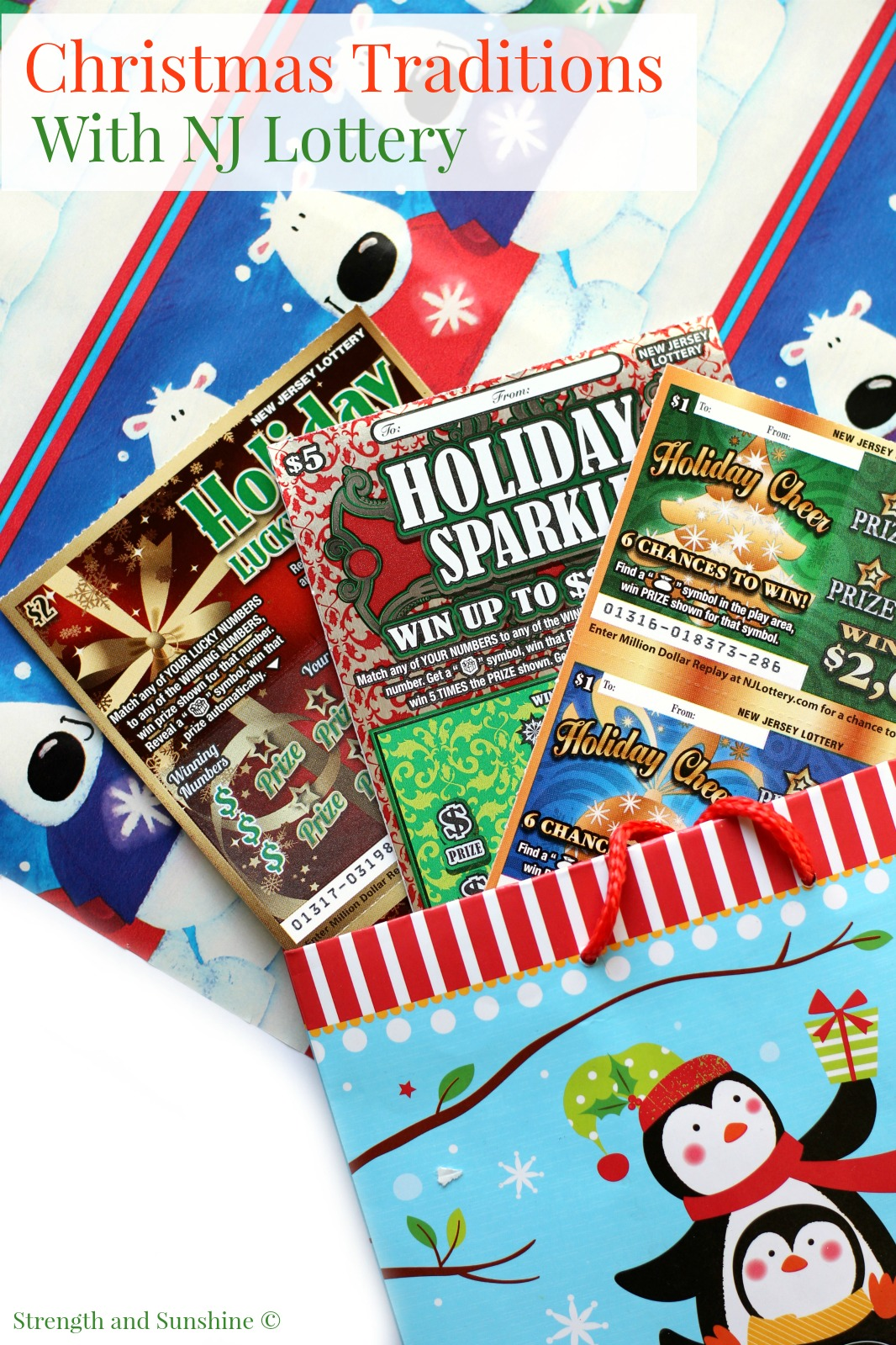 Christmas Traditions With NJ Lottery | Strength and Sunshine @RebeccaGF666 @NewJerseyLottery and #NewJerseyLottery #NJLotteryHoliday