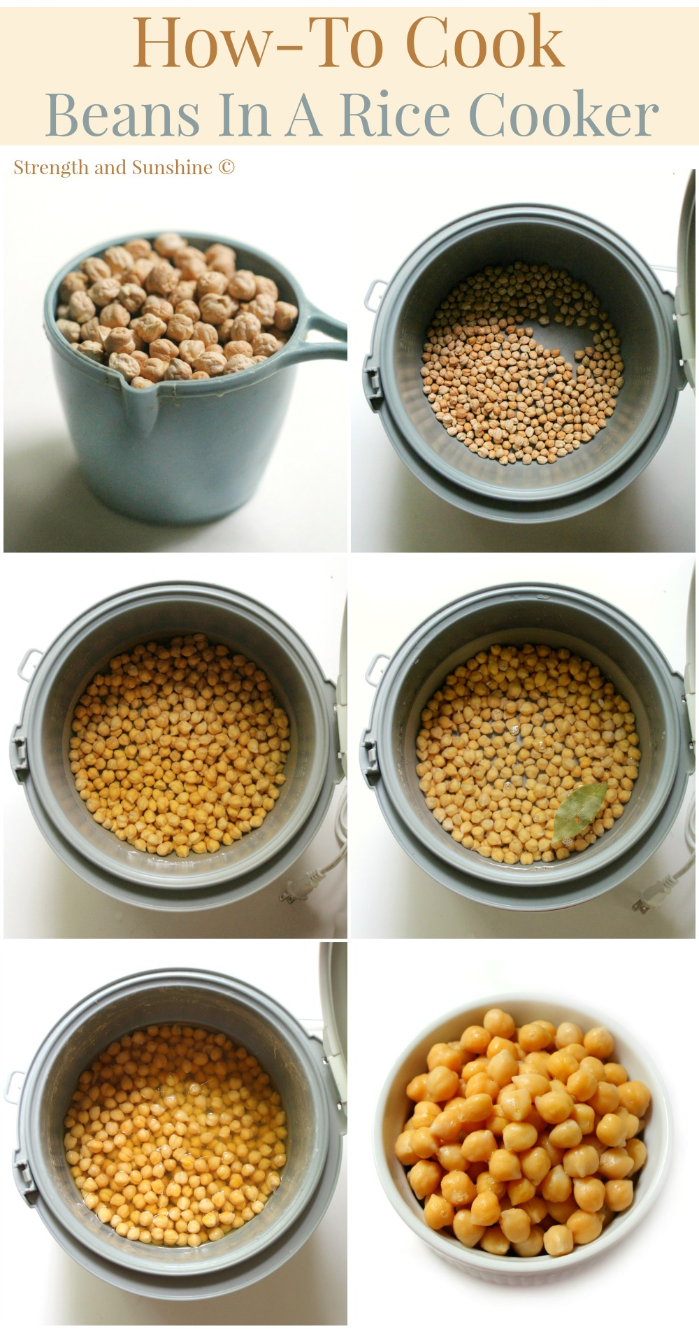How To Cook Beans In A Rice Cooker