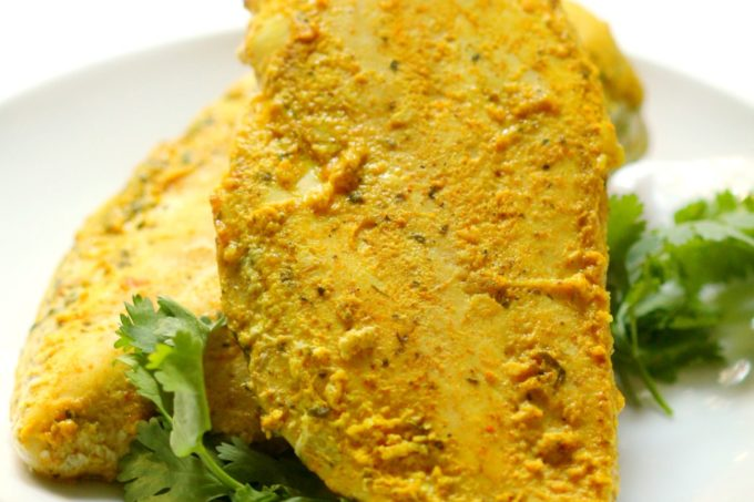 Curried Coconut Grilled Chicken | Strength and Sunshine @RebeccaGF666 Curried Coconut Grilled Chicken that packs a huge flavor punch! Marinated in coconut milk and spices, this moist & decadently flavored chicken is a healthy gluten-free & paleo recipe to shake up the dinner menu!