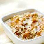 Caramel Almond Sorghum Porridge