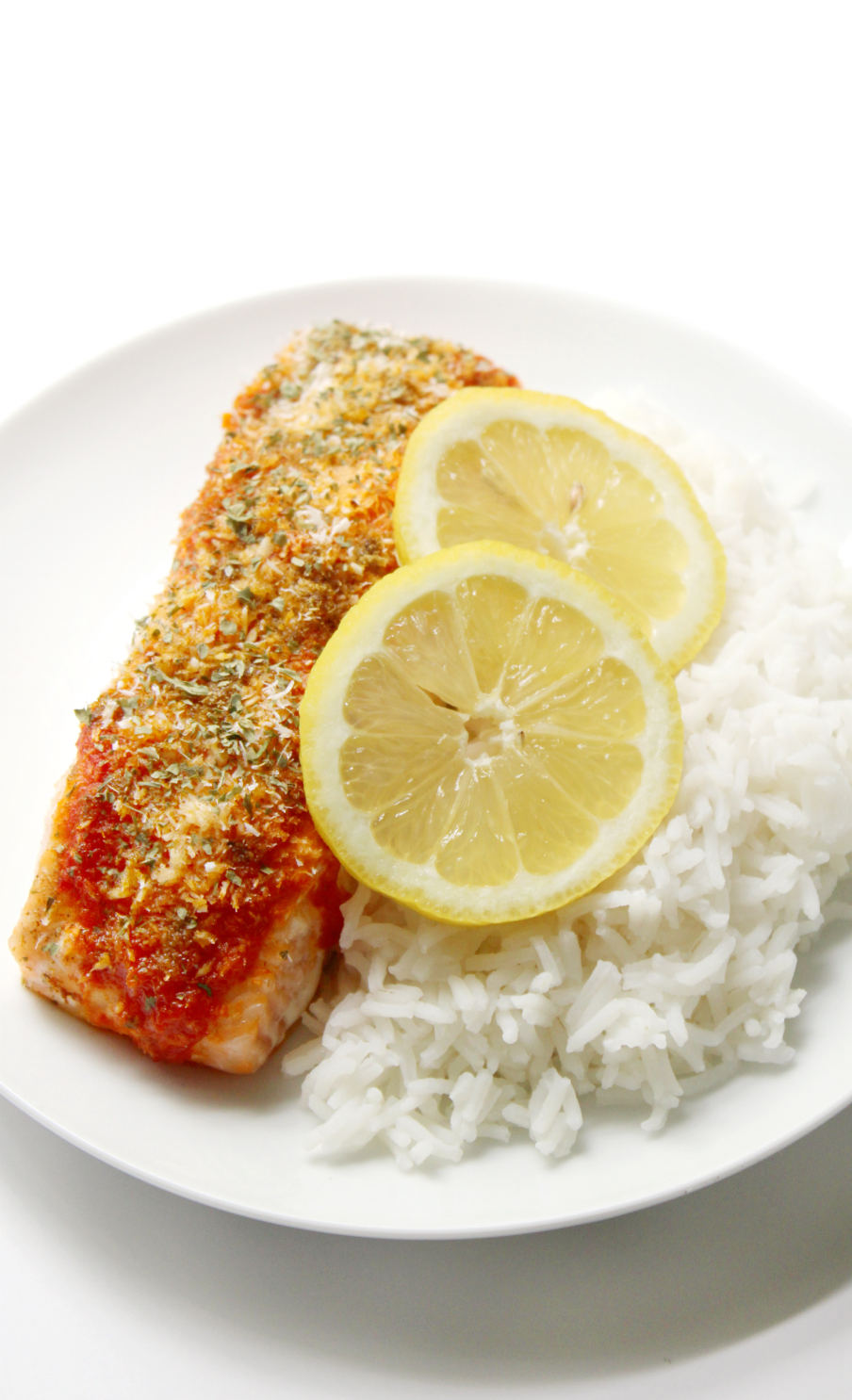 Harissa Salmon with Shredded Coconut | Strength and Sunshine @RebeccaGF666 A delicious new way to flavor up your favorite fish! Harissa Salmon with Shredded Coconut is a healthy new recipe to add to the dinner plate. Gluten-Free, paleo, and whole 30 friendly, so you'll never be bored!
