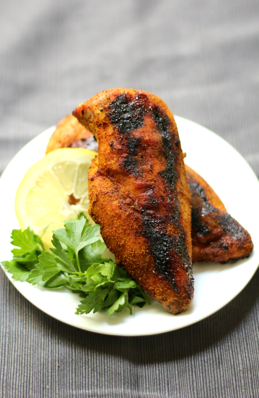 Grilled Ras El Hanout Chicken | Strength and Sunshine @RebeccaGF666 With an essential Moroccan spice blend, Grilled Ras El Hanout Chicken will become a new favorite healthy dinner recipe to throw on the grill. Gluten-free, paleo, and Whole 30 approved, entice the senses of smell and taste with this exotic dish.