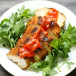 Grilled Ras El Hanout Chicken