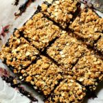 Peanut Butter & Jelly Crumble Bars