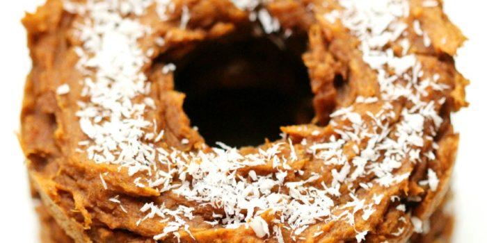 Cinnamon Sweet Potato Doughnuts