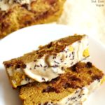Tahini Chocolate Chip Pumpkin Bread