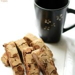 Chocolate Chip Teff Biscotti (Gluten-Free, Vegan)