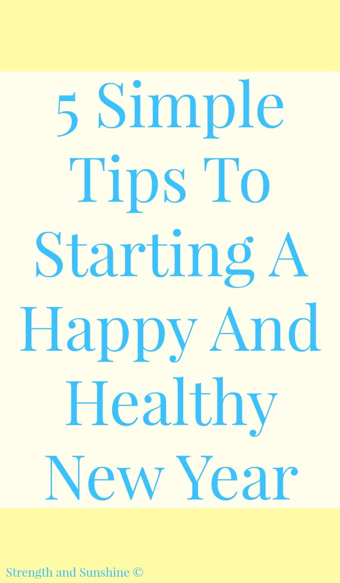 5 Simple Tips To Starting A Happy And Healthy New Year | Strength and Sunshine @RebeccaGF666 During and after the holidays and into the new year, staying healthy sometimes falls to the wayside for some of us. But, it doesn't have to! With these 5 simple tips to starting a happy and healthy new year, you and your family will be able live vibrantly all year long! AD RenewLifeProbiotics