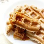 Easy Freezable Applesauce Waffles (Dippable!)