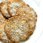 Lavender Coconut Tigernut Flour Cookies (Gluten-Free, Vegan, Paleo)