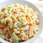 Classic American Macaroni Salad (Gluten-Free, Vegan, Allergy-Free)