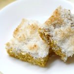 Mango Snack Cake with Toasted Coconut Crumb (Gluten-Free, Vegan)