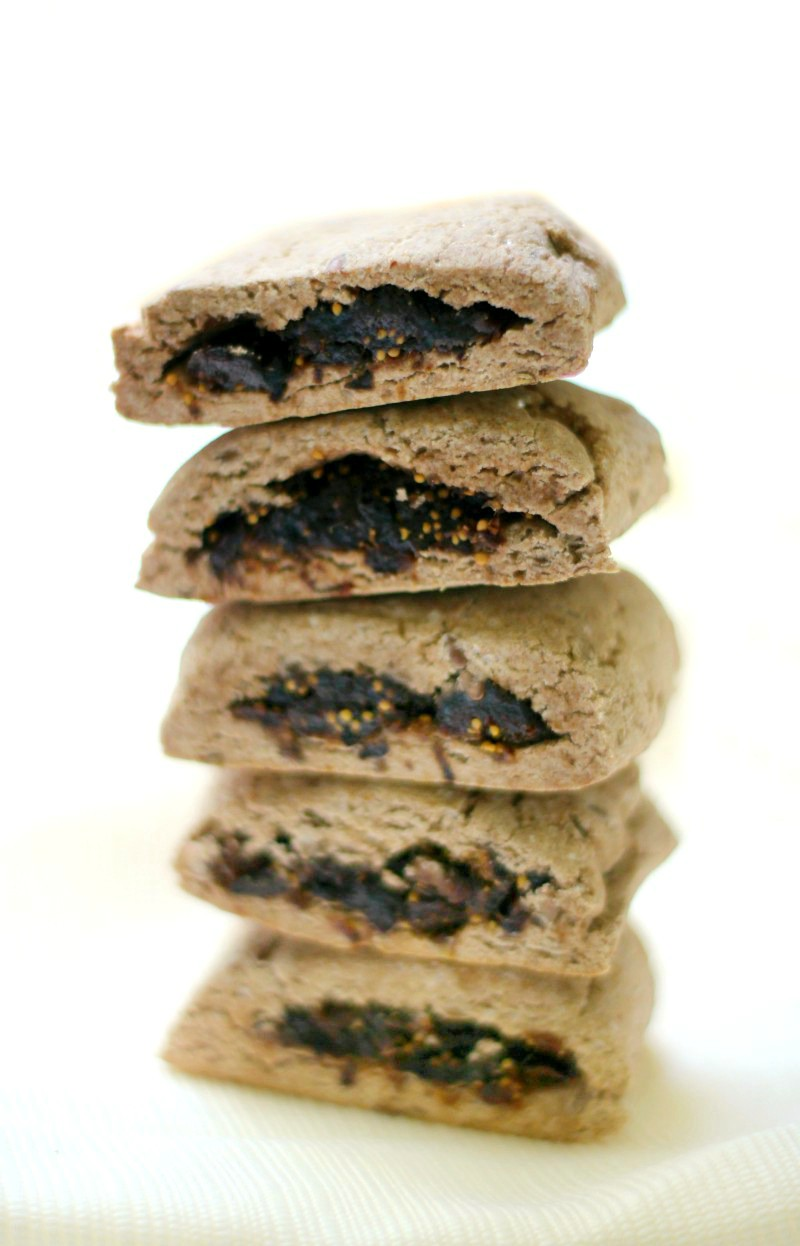 Homemade Gluten-Free Fig Newtons (Vegan, Allergy-Free) | Strength and Sunshine @RebeccaGF666 The classic cookie now baked right at home! Homemade Gluten-Free Fig Newtons, naturally sweet, vegan, and top-8 allergy-free. A healthy dessert or snack, these fig filled soft cookie rolls will be a new staple recipe in your home!