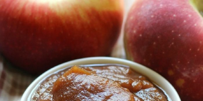 Slow Cooker Apple Butter (No Peeling Required!)