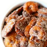 Gluten-Free Cinnamon Sugar Pretzels (Vegan, Sugar-Free, Allergy-Free) | Strength and Sunshine @RebeccaGF666 A super easy, salty, sweet, and crunchy snack recipe! These Gluten-Free Cinnamon Sugar Pretzels are vegan, sugar-free, and top-8 allergy-free! Perfect for gift-giving, late night snacking, or a healthier kid-friendly treat! #glutenfree #vegan #pretzels #cinnamonsugar #snacks #holidays #sugarfree
