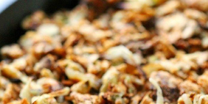 Healthy Gluten-Free + Vegan Green Bean Casserole (Allergy-Free)