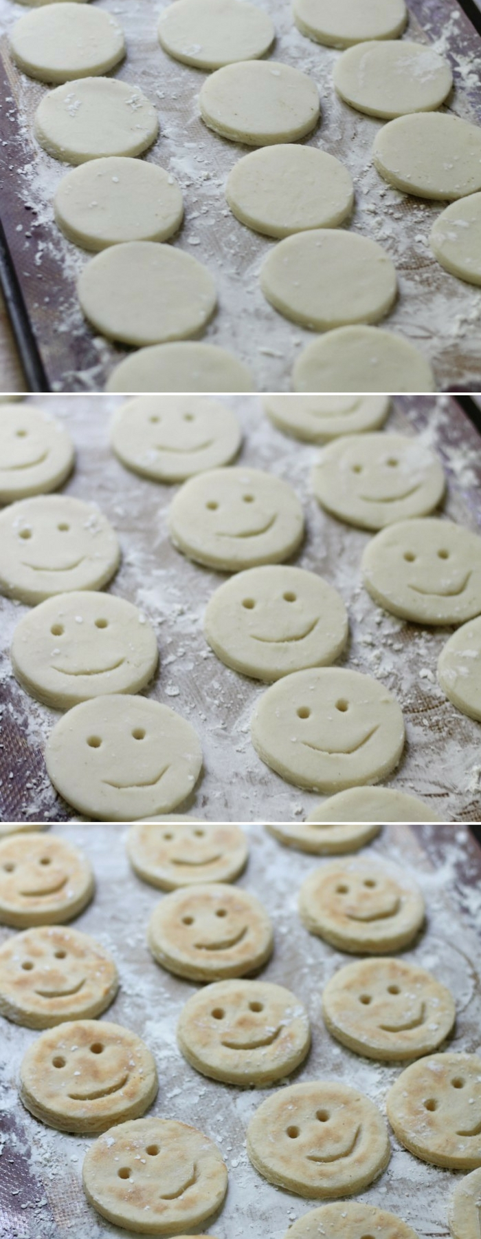 3-Ingredient Potato Smiley Face Fries (Gluten-Free, Paleo, Vegan, Allergy-Free) | Strength and Sunshine @RebeccaGF666 The happiest french fries around! This baked 3-ingredient recipe for Potato Smiley Face Fries is gluten-free, paleo, vegan, top 8 allergy-free, and requires no oil! Nostalgic for adults, fun & creative for kids and picky eaters; a delicious healthy side dish the whole family can enjoy! #frenchfries #fries #kidfriendly #glutenfree #vegan #paleo #allergyfree #strengthandsunshine